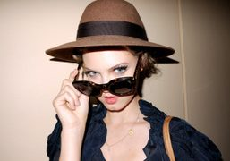 The cutest girl in NY and Purple Cover girlLindsey Wixson at the…