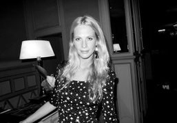 Poppy Delevigne after the Emilio Pucci Spring/Summer 2012 show, Milan. Photo Olivier Zahm