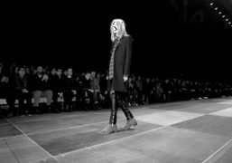 Saint Laurent men's F/W 2013 show at the Grand Palais, Paris