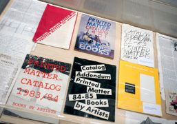 """""""Learn to Read Art: A Surviving History of Printed Matter, Inc"""" at..."""