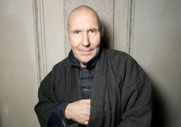 Photographer Michel Comte at the Vogue Italia Talents Corner cocktail party in collaboration…