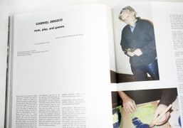 Read our interview with Gabriel Orozco in Purple Fashion #23 out now