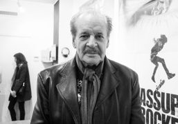 """Larry Clark """"The Smell of Us"""" book signing at Chez B, Paris"""