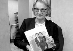 Paul Smith at the book signing, in Milan, of his new book…
