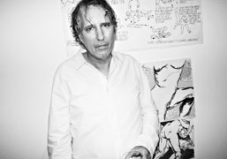 Raymond Pettibon exhibition opening at Regen Projects, Los Angeles