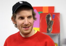 Watch the Arcangel Surfware Purple TV Takeover from visual artist Cory Arcangel