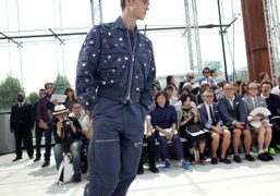 Louis Vuitton Men's S/S 2015 show at Parc André Citroën, Paris
