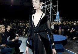 Givenchy F/W 2015 show at Lycee Carnot, Paris