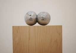 "Barbara Kasten and Justin Beal ""Constructs, Abrasions, Melons and Cucumbers"" at Bortolami,..."