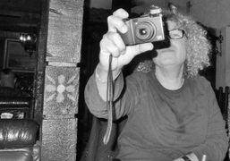 A portrait of the photographer and Purple contributor Brad Elterman at El Compadre,…