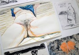 Raymond Pettibon at David Zwirner, New York