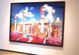One work by David LaChapelle included in his new solo exhibition Land…