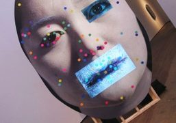 Tony Oursler solo exhibition at Lehmann Maupin, New York