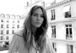 Erin Wasson at the Zadig & Voltaire F/W 2011-2012 presentation of her…