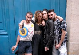 Cedric Rivrain, Yaz Bukey, Marie Marot, and Olivier Bobin at the Yazbukey…