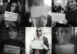 Alice Temperley's #FLOODSUPPORT #TEMPERLEY campaign