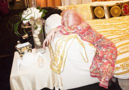 Lady Gaga after her show, Washington D.C. Photo Terry Richardson To see…