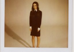 Victoria Beckham after the Victoria F/W 2012 Presentation, New York. Photo Jeremy…