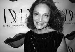 This season's cover star Diane Von Furstenberg invited Diana Ross to her…