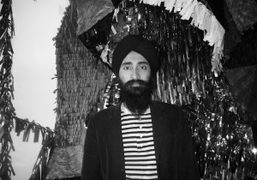 Waris Ahluwalia at the United Bamboo FW 09/10 fashion show