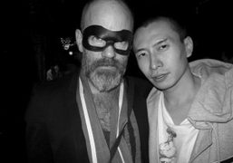 Michael Stipe and Terence Koh at the Proenza Schouler party at The…