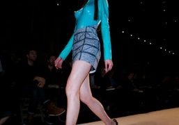 Hussein Chalayan F/W 09/10 show at the Couvent des Cordeliers. Photo Olivier…