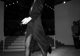 Last look of the Yves Saint Laurent F/W 09/10 show, Palais de…