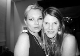 Kate Moss and Anna Dello Russo, two of my favorite iconic fashion…