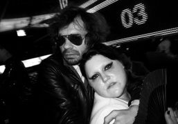 Olivier Zahm and Beth Ditto dancing at the after party of the…