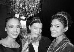 Jessica Alba, Milla Jovovich and Eva Mendes, the final glamorous trio of…