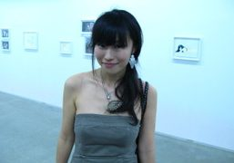 OLYMPIA in Japan: Hiromix at the opening of her first solo show…