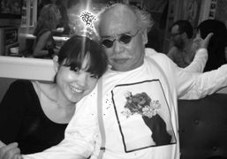 Two lovers, Kaori and Nobuyoshi at Araki's favorite karaoke bar. He usually…