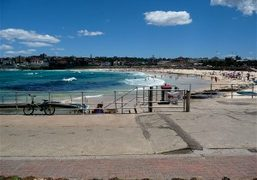 A morning at Bondi Beach, Sydney. Photo Linlee Allen