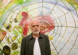Francesco Clemente is back with a really good show at Deitch Projects…