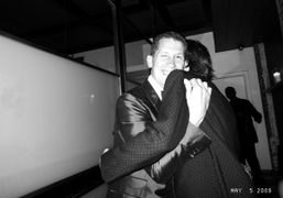 Stefano Tonchi and Francesco Vezolli at the Rodarte Met Ball after party…