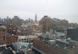 The Meatpacking District and Diane Von Furstenberg's private glass penthouse, New York….