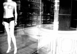 Oz, It's a mannequin in an old unused store downtown with the…