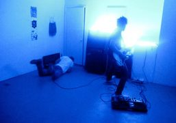 TV Baby performing at the closing party for Leo Fitzpatrick's show at…