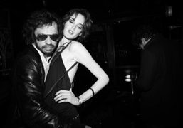 Olivier Zahm and Lee at Le Montana, Paris. Photo Olivier Zahm
