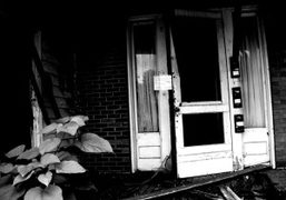 An abandoned building, West Virginia. Photo Christopher Lusher