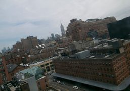 The Meatpacking district viewed from my room at The Standard Hotel, New…
