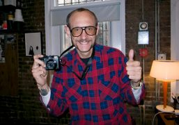 Terry Richardson in his studio, New York. Photo Olivier Zahm