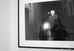 Cindy, Juliana and me, Metro Pictures, New York. Photo Olivier Zahm
