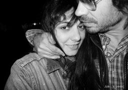 Lizzi Bougatsos and me reunited for one second, New York. Photo Olivier…