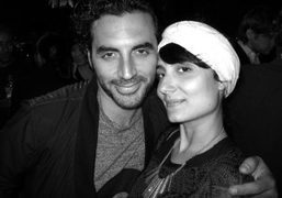 Yigal Azrouel and Amanda at the Men's Style.com Women in Fashion party…