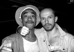 Lucien Marc Smith and Magnus Unnar at the Jane Hotel, New York….