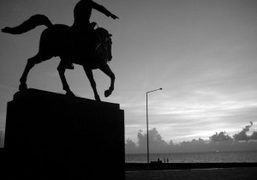 The Calixto Garcia monument along the Malecon in Havana, Cuba. Photo Dustin…