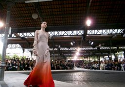 f/w 09/10 Givenchy couture show by Riccardo Tisci