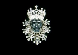 Pendant from the new Dior Joaillerie Roi et Reine collection presented at…