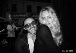 Who's the most beautiful couple in town tonight? Mario Sorrenti and Mary…